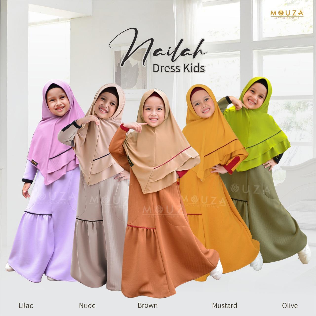 Nailah Dress Kids