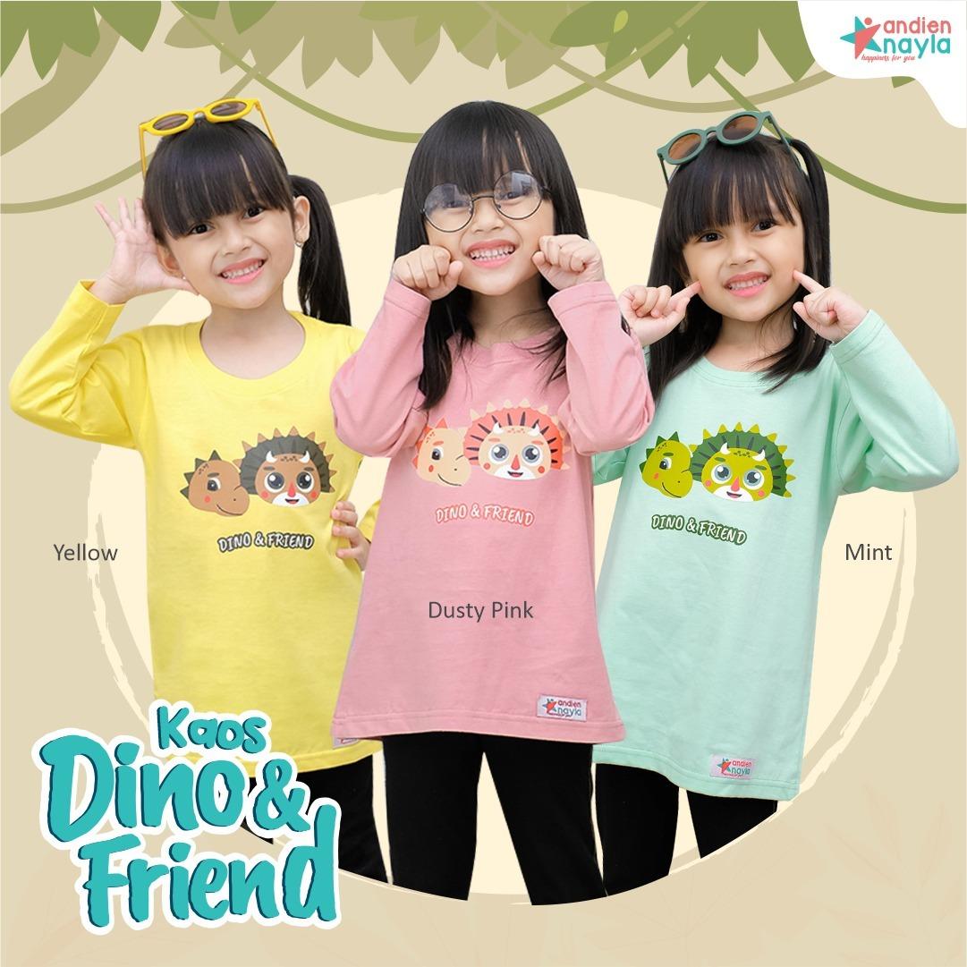 Kaos Dino & Friend Panjang