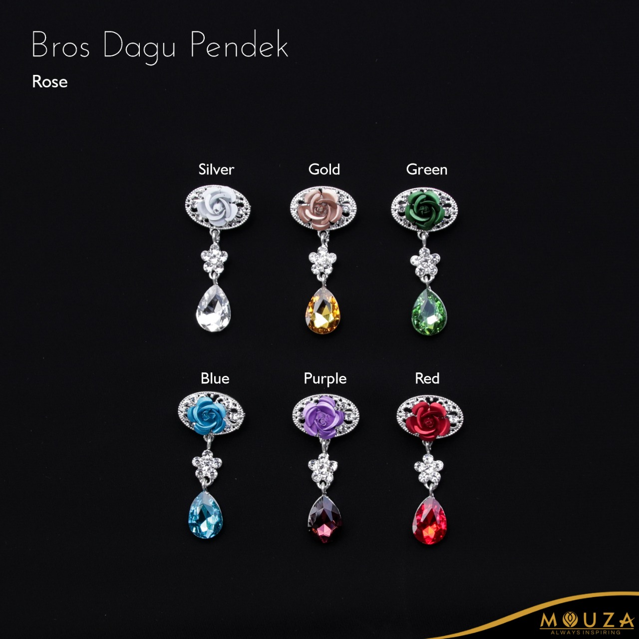 Bross Dagu Pendek Rose