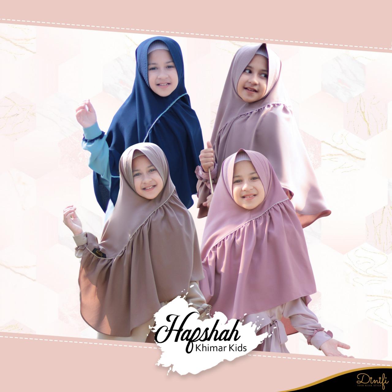 Khimar Hafshah Kids