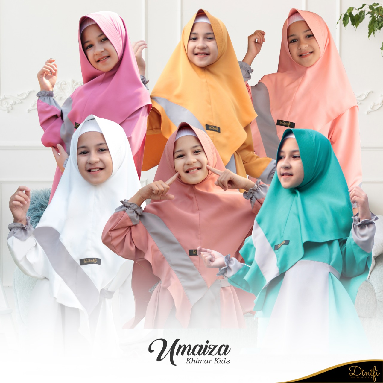 Khimar Umaiza Kids